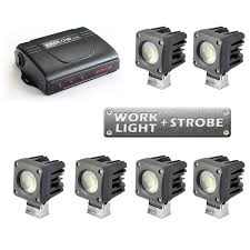 6pc Work Light & Strobe Dual Function 60watt LED Lights For Vehicles Strobe Light Police Lights Car Styling 4 Yellow Amber Led Flash Ford Expands Firstever Factoryinstalled Warning Led 1 Kit Red Blue Truck Wireless Emergency Wolo Emergency Warning Light Bars Halogen Strobe 6pc Work Dual Function 60watt Lights For Vehicles Amazoncom Jackey Awesome 16led 18 Flashing Mode Hideaway Mini Vehicle 2x22 Flasher Lamp Bars With Lamphus Sorblast 34w Cstruction Tow White Beacon Trucklite Super 60 Integral 60120y