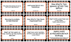 Scary Halloween Scavenger Hunt Riddles by English Worksheets Halloween Trivia Incl Answers Panel 3 Provides
