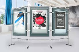 Stand Poster Mock Ups