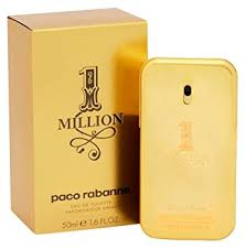 paco rabanne 1 million eau de toilette for 50 ml paco