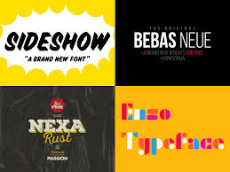 Font Design How Designers Choose Which Fonts To Use