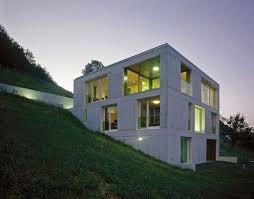 100 Concrete House Designs Contemporary Design In Rural Landscape Of Switzerland