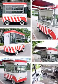 2017 Mobile Food Carts Electric Snack Truck Mini Trailer Dot / Eec ...