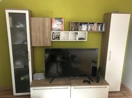 wohnwand tv board tv schrank wohnzimmer sideboard möbel ikea