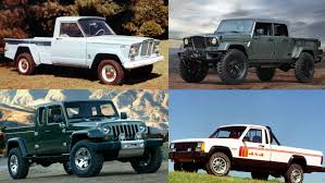 100 Truck Jeep The Long Illustrious History Of Pickup S Top Speed