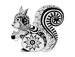 Animals Coloring Pages For Adults Of In Animal Printable
