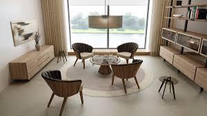 hülsta solid aktions set bestehend aus 1xlounge tisch 4x lounge sessel und 2x henkel beistelltisch