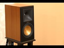 Klipsch RP160M Bookshelf Speakers Sound Demo Rock