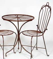 100 Small Wrought Iron Table And Chairs Dining Charming Outdoor Dining Room Design Using Round