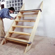 comment fabriquer un escalier d extérieur en bois construction