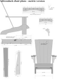 Adirondack Chair Plans In Metric Dimensions In 2019   Wood ... Adirondack Plus Chair Ftstool Plan 1860 Rocking Plans Outdoor Fniture Woodarchivist Wooden Templates Resume Designs Diy Lounge 10 Weekend Hdyman And Flat 35 Free Ideas For Relaxing In Adirondack Chair Plans Mm Odworking Tools Tips Woodcraft Woodshop Woodworking Project To Build 38 Stunning Mydiy
