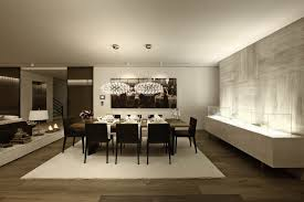 dim lighting dining room interior design ideas
