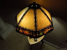 Duffner And Kimberly Lamps by 34 Handel Lamp Stunning Overlay From Antiquevintagelamps On