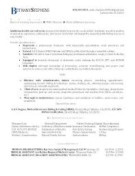 Medical Billing And Coding Resume Sample Samples With Coder