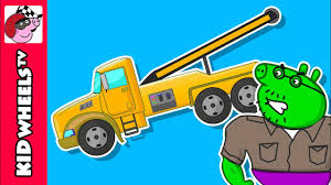 Peppa Pig Tow Truck. Monster Trucks Crashes. Tow Truck Songs For ... Car Carrier Truck With Spiderman Cartoon For Kids And Nursery Lightning Mcqueen Cars Truck In Monster Shapes Songs Children The Song Ambulance Music Video Youtube Garbage By Blippi Fire Engine For Videos Wheels On Original Rhymes Baby Finger Family Trucks Surprise Eggs Titu Recycling Twenty Numbers