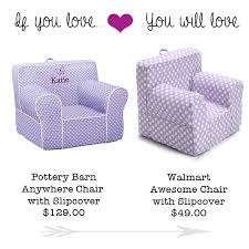 if you love pottery barn s kids chair you will love walmart s