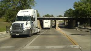 100 Truck Stuck Under Bridge Semi Gets A