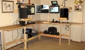 Corner Computer Desk With Hutch by Decor Corner Desk Plans Stylish Corner Desk Hutch Plans U201a Beguile