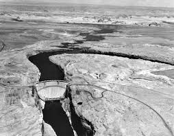 federal bureau of reclamation file aerial view of the glen dam 1965 us bureau of