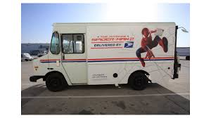 Lowen Color Graphics Transforming United States Postal Service ... Post Office Truck Stock Photos Images Lafayette Mail Stranded In Water Grumman Llv Wikipedia Around Acworth Us Carriers Honor Virginia Galvan Only On Kron Usps Mail Truck Stolen In Oakland Covered Amazon Blame Postal Service For Issues That Led To Blockade Of Private At Portland Facility Postalmag Neither Snow Nor Hailthe Needs A New Get Khoucom Worker Hospital After Being Hit By Alleged Triad Worker Delivers Holiday On Christmas Eve We Dont Have To Obey Traffic Laws Shot Killed Dallas Freeway Fort Worth Star