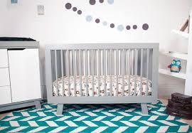 Babyletto Skip Changer Dresser Chestnut And White by Babyletto Mercer Babyletto 2 Piece Nursery Set Mercer Crib And