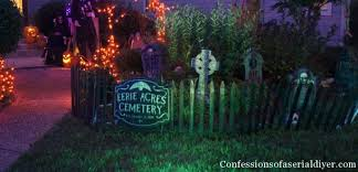 Halloween Cemetery Fence by Spooky Outdoor Halloween Tour Confessions Of A Serial Do It