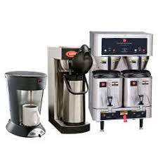 Commercial Coffee Makers Machines On Automatic Thermal Carafe Brewer Dual Pot Maker