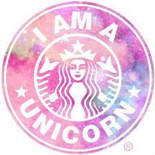Unicorn Starbucks And Pink Image
