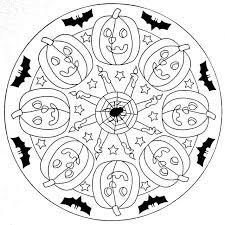Mandala Enfant 25 Idees Originales A Emprunter Et Imprimer Coloring PagesPumpkin