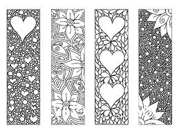 Great Bookmarks Coloring Pages 51 With Additional Site