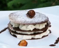 feuillantines chocolat marrons et armagnac pour un dessert léger
