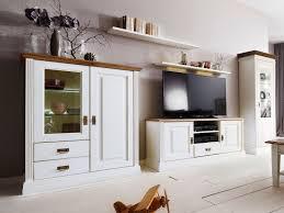 wohnwand wohnzimmer set novara highboard tv schrank vitrine wandbords pinie nordica weiß wildeiche
