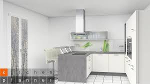 u küchen großzügige küchenform für große räume