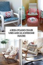 Ikea Poang Chair Covers Canada by Easy Update For An Old Ikea Poang Footstool And Chair Covers
