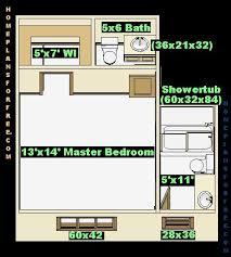 13x14 Master Bedroom Left Design