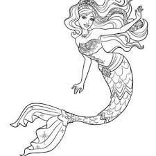 Barbie Mermaid Tale Coloring Pages