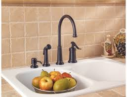 Pfister Ashfield Kitchen Faucet by Four Hole Kitchen Faucets Briqs