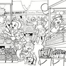 Super CrewTM Coloring Pages Fun Nutrition For Kids