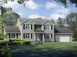 100 Saratoga Houses Floor Plan TwoStory Master Down Home Wayne Homes