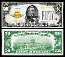 Ulysses S Grant Has Appeared On The United States Fifty Dollar Bill Since 1913
