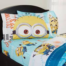 Blackout Curtains Burlington Coat Factory by Despicable Me U0027minions U0027 Bedding Sheet Set Walmart Com