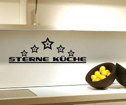 wandtattoo 5 sterne küche esszimmer spruch sticker wand aufkleber 5q795