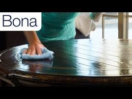 Bona Polish For Laminate Floors by Bona Wood Furniture Polish Youtube
