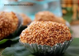 cuisine alg駻ienne gateaux petits gâteaux aux sésames les joyaux de sherazade