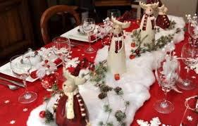 deco noel de table decoration de noel pour une table décoration de noël déco écolo
