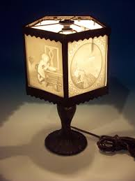 Fenton Fairy Lamp Insert by This Exquisite Lamp Contains 5 Lithophane Panels Most Of Which