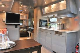 Modern Camper Interiors Interior Contemporary New York With Leather Counter Height Best Design