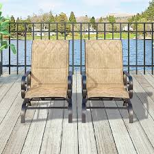 Patio Festival ® Outdoor Swing Glider Chair Patio Swing Furniture Seating  Rocking Bistro Chairs Set Of 2,Textilene Mesh Steel Frame (2 PC-1, Beige) Details About Garden Glider Chair Tray Container Steel Frame Wood Durable Heavy Duty Seat Outdoor Patio Swing Porch Rocker Bench Loveseat Best Rocking In 20 Technobuffalo The 10 Gliders Teak Mahogany Exclusive Fniture Accsories Naturefun Kozyard Fleya Smooth Brilliant Outsunny Double How To Tell If Metal And Decor Is Worth Colorful Mesh Sling Black Buy Chairoutdoor Chairrecliner Product On Alibacom Silla De Acero Con Recubrimiento En Polvo Estructura