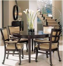round dining table design ideas stunning round kitchen table decor