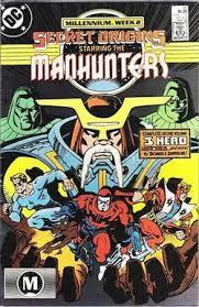 Secretorigins Manhunters Secret Origins